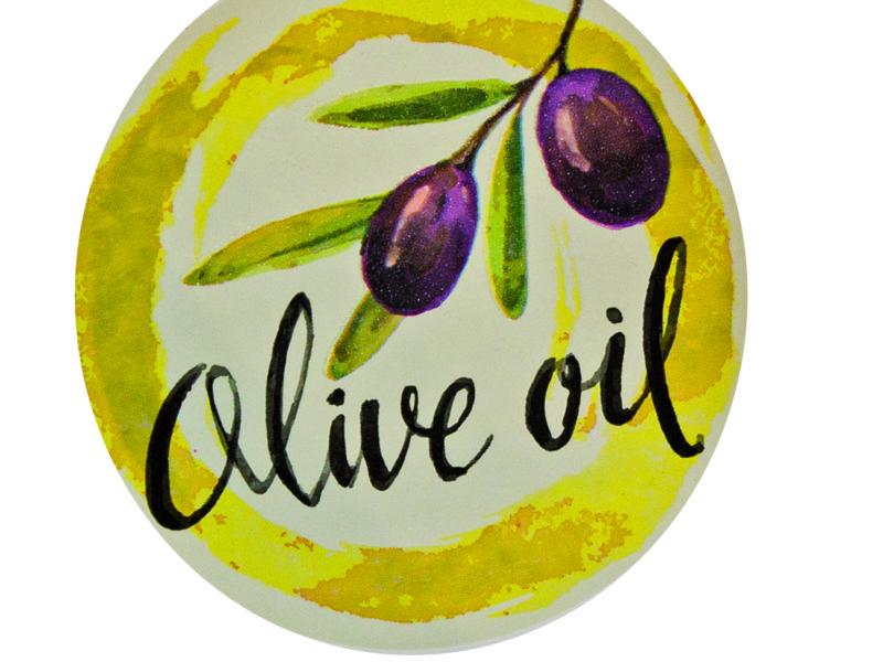 Etichette adesive - Olio d'oliva